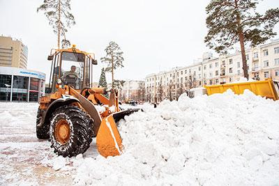 Уборка и вывоз снега с погрузкой